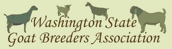 Washington State Goat Breeders Association Header